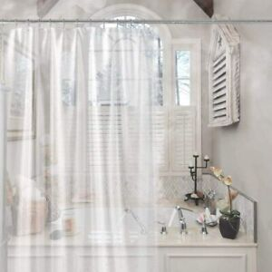 """Waterproof Shower Curtain Liner, Eco-Friendly, Clean and Rust-Proof 72"""" x 72"""""""