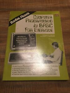COMPUTER PROGRAMMING IN BASIC FOR EVERYONE Dwyer Radio Shack Instruction Book