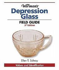 2008 Warman's Depression Glass Field Guide Values and Identification Book New