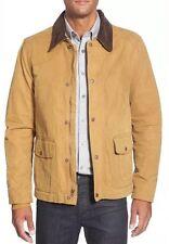 New Timberland Men's Mount Lincoln Waxed Canvas Jacket Metal  Bronze 7840J. SZ:L