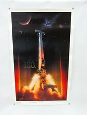 "Kenny Youngblood - Beyond 300 - Lithograph Poster 38""x 23"" Signed & personalized"