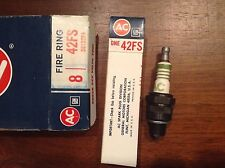 Buick Opel 1968-75 AC Fire Ring Spark Plugs 42FS with GREEN STRIPE RING Set of 4