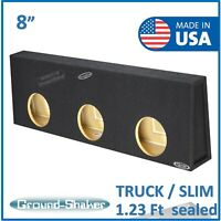 """Bbox 10/"""" Down Subwoofer Enclosure for 1997-03 Ford F-150 Extended Cab Truck"""