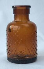Small Golden Amber Lysol Bottle