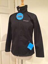 Columbia Jacket Water Resistant Raincoat Lightweight Zip Black M Medium NWT