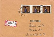 Briefmarken aus der BRD (1970-1979) mit Mehrfachfrankatur und Echtheitsgarantie
