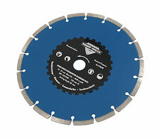 "9"" / 230mm High Speed Segmented Diamond Cutting Disc - Angle Grinder Disk"