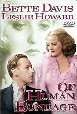 OF HUMAN BONDAGE Bette Davis, Leslie Howard DVD NEW
