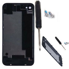 For iPhone 4/4s Battery cover back door rear glass + Screws + Screwdriver