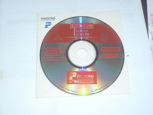 Parsons Quicken Family Lawyer, 1995, for Mac OS 7.x & Windows 3.1, 95