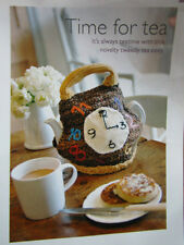 Novelty Clock Tea Cosy crochet pattern removed from art of crochet mag