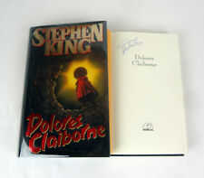 Stephen King Author Signed Autograph Dolores Claiborne 1st Edition Book