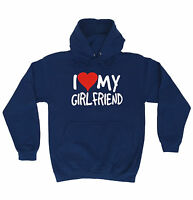 I Love My Girlfriend HOODIE hoody birthday fashion gift boyfriend partner funny