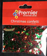 Holly & Baies Table de Noël Vermicelles Confetti Décoration de Fête