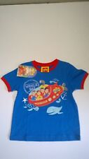 Wiggles / Wiggle Bay / T - Shirt / Boys / Sizes 1, 2, 3 And 4.