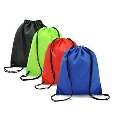 Gym Storage Bag Waterproof Nylon Sport Drawstring Belt Riding Container Backpack
