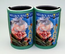 Melbourne Cup - Bart Cartiture Stubby holders x 2