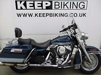 2000 HARLEY DAVIDSON FLHR 1450cc ROAD KING 29963 MILES. SERVICE HISTORY. SCREEN