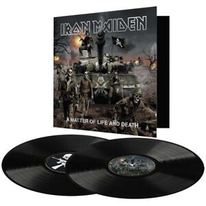 Iron Maiden - A Matter of Life and Death - New 180g Vinyl 2LP - 2015 Remasters
