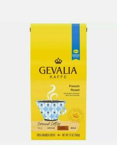 Gevalia French Roast Ground Coffee (12 oz Bag)