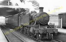 Thame Railway Station Photo. Bledlow - Tiddington. Princes Risborough Line. (4)
