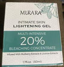 Murara Lightening Gel Intimate Skin Bleaching Cream 1.7 oz Exp 07/2022 Free Ship