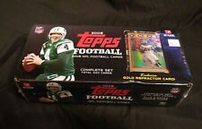2008 TOPPS FOOTBALL SET FACTORY SEALED NFL COMPLETE SET EXCLUSIVE GOLD REFRACTOR