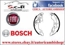 Kit ganasce freno BOSCH 0986487597 FIAT PUNTO (188) 1.2 44 KW 1.2 BiFuel N.power