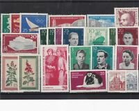 German Democratic Republic mint never hinged stamps Ref 13801