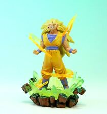 "Dragon Ball capsule Goku Super Saiyan 3 Figure Authentic 4"" MegaHouse JP A2784"