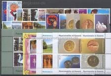KOSOVO UNMIK - JAHRGANG YEAR 2006 KOMPLETT POSTFRISCH NR. 43 - 63 **