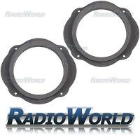 "Ford Focus MK2 Kuga S-Max 6.5"" MDF Front Door Speaker Adaptors / Rings / Spacers"