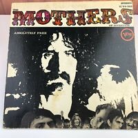 Frank Zappa & Mothers of Invention Absolutely Free Original Vinyl Record LP