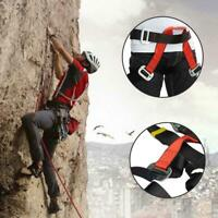 Outdoor Rescue Rock Climbing Belt Safety Rappelling Harness HOT! Adjustable Z2P3