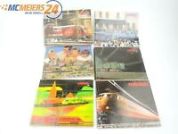 E80R228s Märklin H0 6x Hefte Katalog 83/84+86/87+87/88+88/89+89/90+93/94
