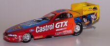 John Force Castrol GTX/Superman 1999 Mustang Funny Car Action 1:32 AUTOGRAPHED