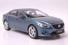 Mazda Atenza car model in scale 1:18 blue