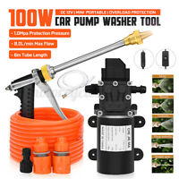 12V 200PSI High Pressure Car Washer Cleaner Water Wash Pump Sprayer Tool 6M