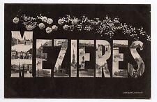 MEZIERES  Ardennes CPA 08 carte multi vues souvenir