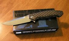 ZERO TOLERANCE New Sinkevich 0452CF Carbon Fiber Flipper S35VN Bld Knife/Knives