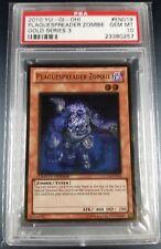 YuGiOh PSA 10 Plaguespreader Zombie Gold Series 3 Ultra Rare Holo GLD3-EN019