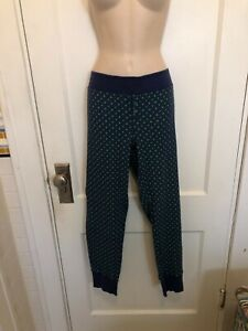 Victoria's Secret Lounge Pants Blue Stars XL Extra Large