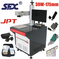 Industrial Grade 30W JPT Fiber Laser Engraving Machine,with 19''Computer and USB