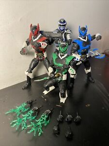 power rangers lightning collection lot of 4
