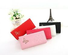 2016 Womens Butterfly Decoration Long Wallet Portable Tote Purse Small Money Bag