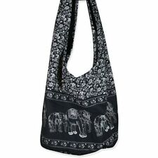 Boxing Hippie Elephant Sling Crossbody Bag Purse Thai Top Zip Handmade New Color
