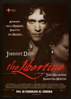 Poster The Libertine Laurence Dunmore Johnny Depp Morton Malkovich M290