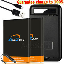 Large Power 4420mAh Battery+Ac Charger Cable for Lg V10 Vs990 H900 H901 Bl-45B1F