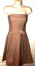 MYSTIC Stretch Strapless Pale Pink Evening Cocktail Prom Dress Size Small (NWOT)