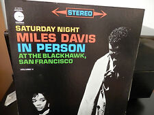 Miles Davis-Live at Blackhawk Vol 2.Columbia LE-10076 Nice Copy Rare Label